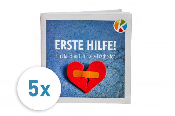5x Handout Erste-Hilfe gem. DGUV (Deutsch)