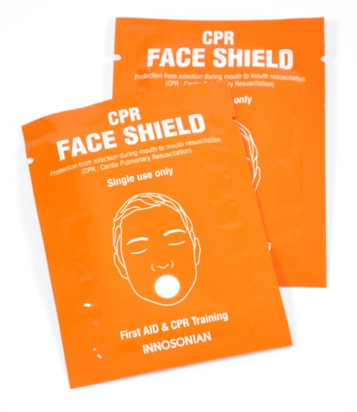CPR FaceShield (Beatmungsfolie Single)