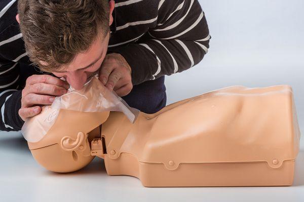CPR FaceShield / Beatmungsfolie (Single)