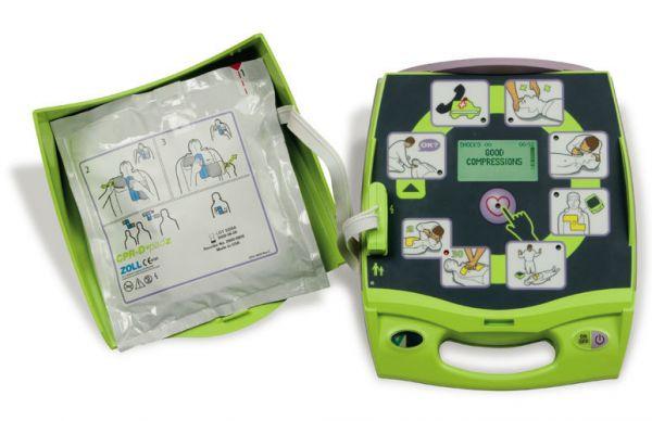 Automatischer Externer Defibrillator (AED) biphasisch
