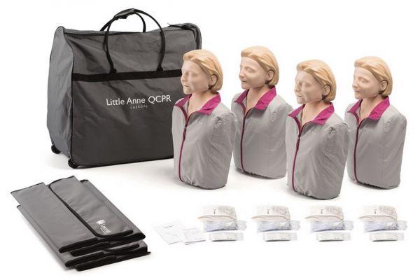 Laerdal Little Anne QCPR (4er Pack)