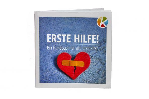 500 x Handout Erste-Hilfe gem. DGUV (Deutsch) - Personalisiert