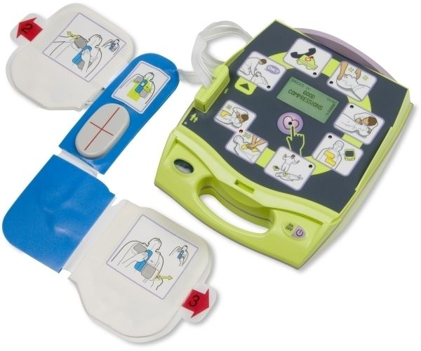 AED Trainer für die Demonstration