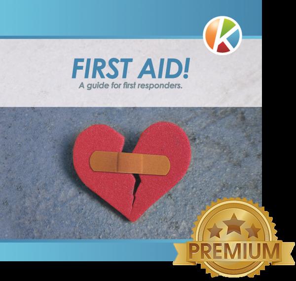 Handout Erste-Hilfe gem. DGUV (englisch) - 2018 PREMIUM