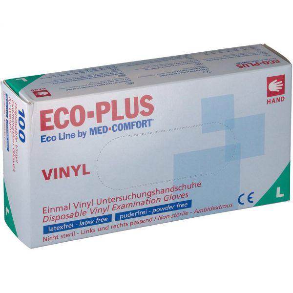 AMPRI Eco Plus - Vinyl Handschuhe (Spenderbox)