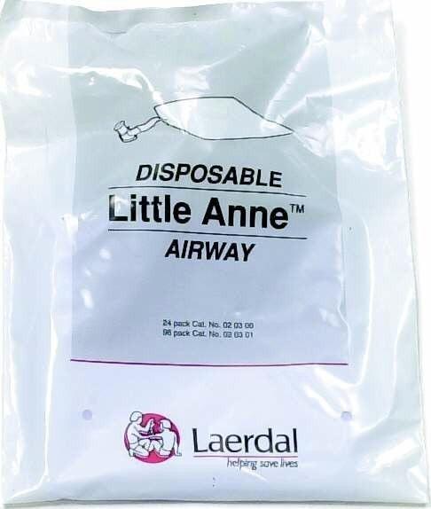 24 Luftwege Laerdal Little Anne (QCPR)