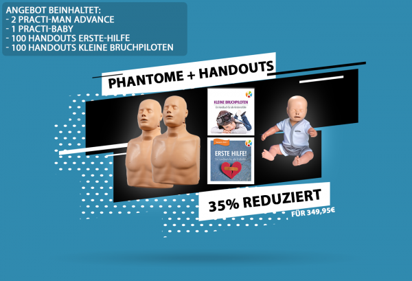 3 Phantome + Handouts