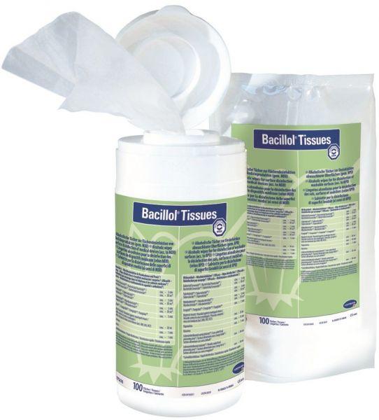 Desinfektionstücher - Nachfüllpack mit 100 Stück